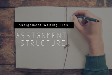 How To Structure Your Writing Assignment