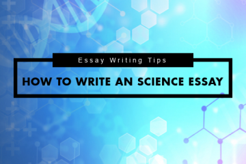 How to write a Sciences Essay